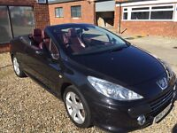 Peugeot 307 cc 2.0 HDi 2007 May PX VW Mercedes Vespa Lambretta Motorcycle WHY