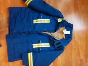 IFR insulated winter jacket and bibs