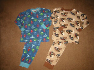 Boys Size 8 PJ's, Pants and Swimming Trunks