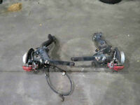 jdm acura rsx, dc5 type R , REAR Spindles, hubs, arms, calipers
