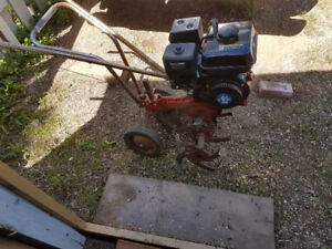 Rototiller with brand new motor