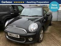 2013 MINI HATCHBACK 1.6 One D 3dr