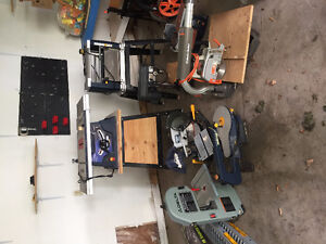 Power tools perfect for your own little wood shop for sale!!!
