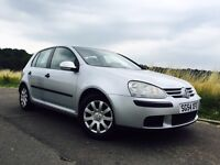 Volkswagen Golf VW mk5 family car 1.6 Fsi with long MOT in excellent condition