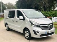 Vauxhall Vivaro / Renault Trafic 1.6CDTi Sportive L1H1**Crew Van / Double Cab***