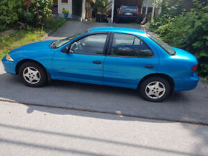 GAS MISER.. NO ISSUES..2000 CAVALIER..PERFECT FOR STUDENT