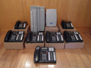 Nortel Norstar 7 telephone caller ID voice mail system  514 966-