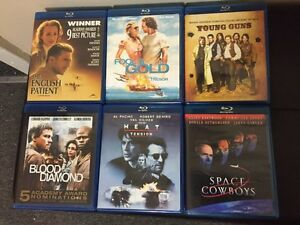 Blu-Ray Disk 4( 2 Left For Sale; Space Cowboys & Fools Gold)