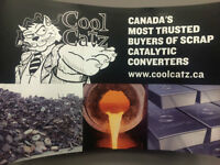 CANADA'S MOST TRUSTED BUYERS OF SCRAP CATALYTIC CONVERTERS