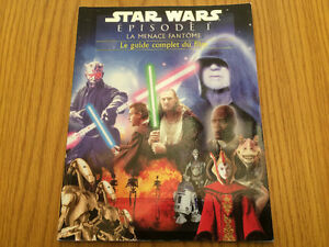 LIVRE COLLECTION - STAR WARS  LA MENACE FANTOME GUIDE DU FILM
