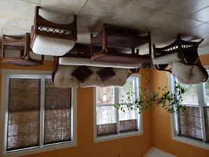 Salon en rotin KUDOS (Qualité commerciale)
