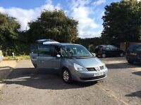 7 seater renault espace 2006 1.9 dci