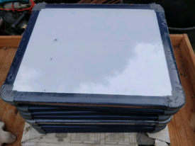 10 small whiteboards, approx 30cm by 24cm