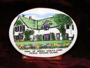 Vintage Bone China Anne of Green Gables Plate