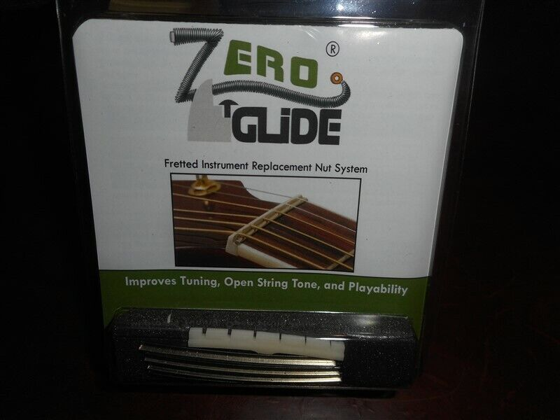 NEW Gold Tone Zero Glide Replacement Slotted Nut For Fender Guitars - ZS-7F