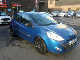 Renault Clio 1.2 16v Extreme - 1 Yr MOT - Warranty - AA Cover. Cheap to insure
