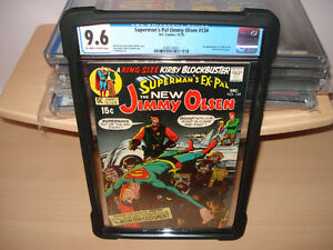 Supermans Pal Jimmy Olsen #134 CGC 9.6  First app of Darkseid