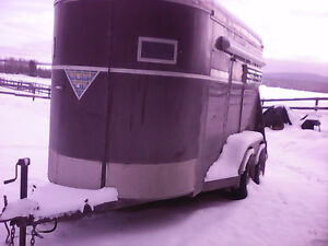 2 horse trailer all redone