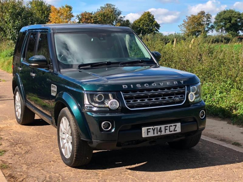 d888d656c7df2e Land Rover Discovery 4 3.0 SDV6 (255bhp) auto XS Commercial 2014 Aintree  Green