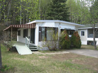 Roulotte camping ste-agathe