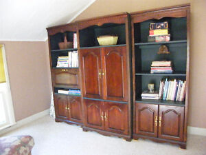 WALL UNIT / BOOKCASES