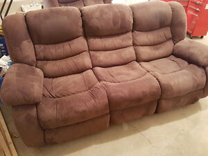Reclining Couch and Loveseat in Yorkton