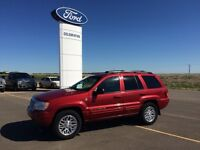 2004 Jeep Grand Cherokee Limited  with Leather & Sunroof