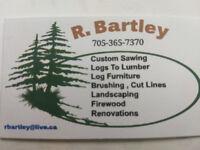 R. Bartley Custom Sawing and renovations
