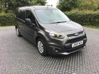 2015(65) Ford Connect 1.5TDCi (120ps) 5 Seater Crew Van Low Miles