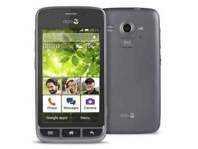 Android Phone - Doro Liberto 820 Mini Black Android Smartphone EasyUse Unlocked Phone Grade A
