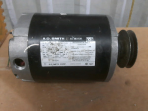 Oil furnace fan motor