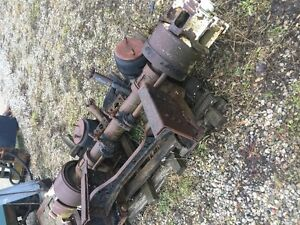 PUSHER AXLE ASSEMBLY ONLY 1200$
