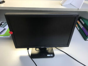 """Acer AL1916WS 19"""" Widescreen LCD Monitor"""