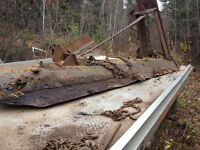 Plow blade for skidder or large truck (11 feet)
