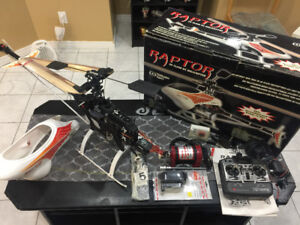 Thunder Tiger RAPTOR 30 CLASS RC HELICOPTER