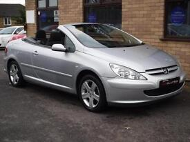 2004 PEUGEOT 307 COUPE CABRIOLET CONVERTIBLE PETROL