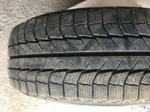 4 Michelin Latitude X-Ice winter tires 225/65/R17 - $360.00