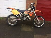KTM 250 (swap for 4 stroke kxf crf yzf rmz)