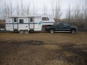 5th Wheel and GMC truck for sale