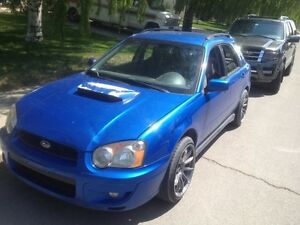 Want to trade 2004 WRX for truck