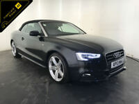 2013 AUDI A5 S LINE SPECIAL EDITION TDI DIESEL CONVERTIBLE FINANCE PX