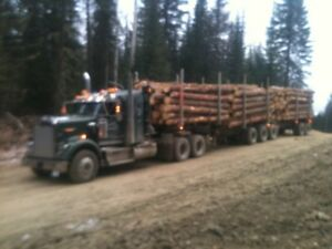 2014 kenworth 1997 superior log trains