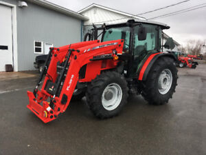 Massey Ferguson 80hp Cab Tractor & Loader - 0%-84 or $15000 OFF