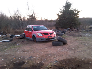 PARTING OUT 2005 PONTIAC VIBE