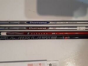 Driver, wood, Hybrid shafts
