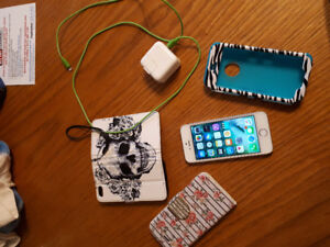 iPhone 5s with TWO cases