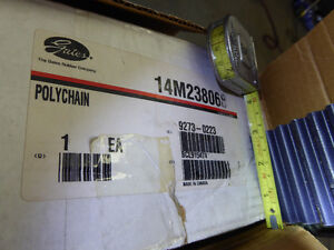 Gates Poly Chain Timing, Drive Belts 14M238068 and 8M112012