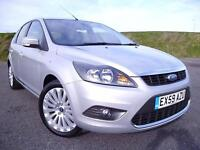 FORD FOCUS 1.6TDCI TITANIUM, SATNAV, BTOOTH,CRUISE FACELIFT MODEL £30 /Y R-TAX !