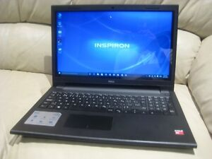 "15.6"" Dell Touch Screen Laptop, AMD A6, 8GB RAM, 1TB HDD"