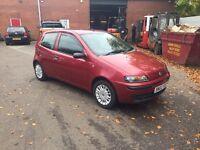 Fiat Punto 2002 1.2 ELX 12 months MOT